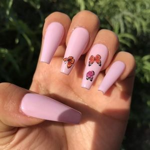 🔥PRICE DROP SALE🔥Press On Nails Long Coffin Med